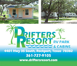 Texas Coastal Bend Vacation Information Rockport Texas